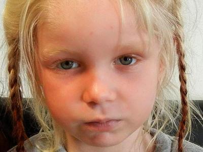 Das Mädchen wurde in Farsala, imNorden Griechenlands gefunden. Foto: Greek Police