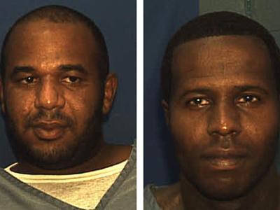 Die beiden Gefangenen auf einem Foto der Justizbehörde. Foto: Florida Department Of Corrections