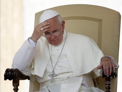 Papst Franziskus im Juni während einer Audienz auf dem Petersplatz in Rom. Foto: Alessandro Di Meo