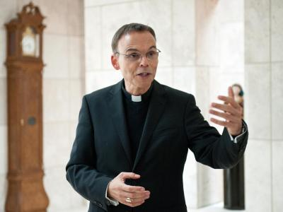Franz-Peter Tebartz-van Elst, Bischof von Limburg Foto: Boris Roessler/Archiv