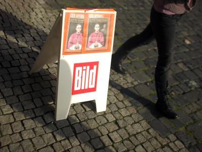 Kiosk-Aufsteller in Limburg