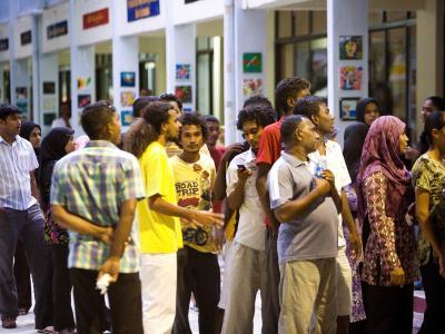 Die Wahlen auf den Malediven werden wiederholt. Foto: Paul Hilton/Archiv