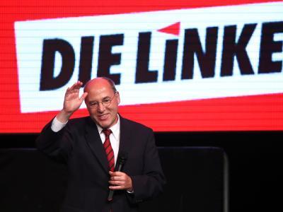 Gregor Gysi, Fraktionsvorsitzender der Linken im Bundestag, in Berlin. Foto: Jan Woitas/Archiv