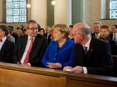 Der Gottesdienst wurde anlässlich der konstituierenden Sitzung des Bundestages gefeiert. Foto: Tim Brakemeier