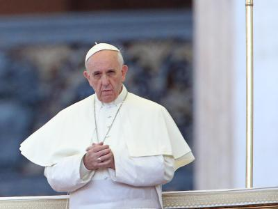 Der Papst wartet ab. Foto: A. Di Meo Archiv