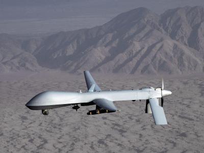Eine Drohne von Typ MQ-1 Predator der US-Air-Force. Foto: Lt. Col. Leslie Pratt