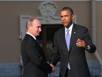 Putin und Obama in St. Petersburg: Von einem NATO-Land aus läuft eine Spionage-Aktion gegen Russland. Foto: Anatoly Maltsev