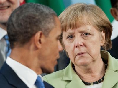 US-Präsident Barack Obama und Bundeskanzlerin Angela Merkel: Der Gesprächsbedarf ist hoch. Foto: Peer Grimm/Archiv