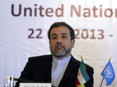 Irans Vizeaußenminister Araghchi will sich vor den Verhandlungen zwischen dem Iran und der IAEA mit Amano in Wien treffen. Foto: Abedin Taherkenareh/Archiv