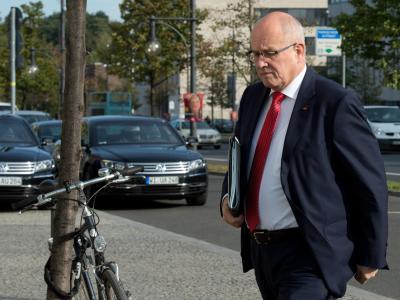 Der Vorsitzende der CDU/CSU-Bundestagsfraktion, Volker Kauder hat sich gegen einen Untersuchungsausschuss zur NSA-Affäre ausgesprochen. Foto: Soeren Stache/Archiv