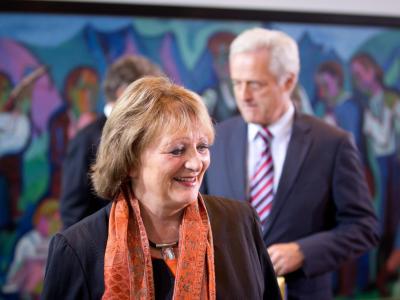 Justizministerin Leutheusser-Schnarrenberger will eine rasche Vereinbarung mit den USA über die Befugnisse der Geheimdienste. Foto: Kay Nietfeld/Archiv