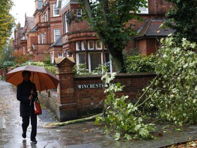 In Großbritannien wüten zur Zeit heftige Herbsstürme. Foto: Tal Cohen