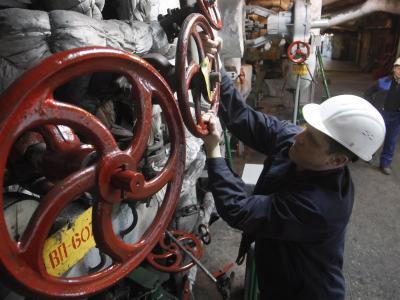 Gaskraftwerk in Kiew