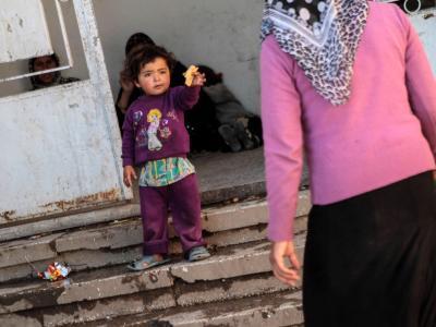Ein syrisches Kind in einem Flüchtlingslager im syrisch-iraakischen Grenzgebiet. Foto: Mauricio Morales