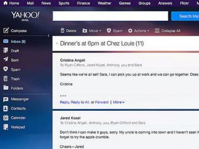 Die Internetkonzerne versuchen, ihre Nutzer mit Verschlüsselungs-Software zu schützen. Foto: Yahoo