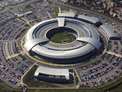 Zentrale des britischen Geheimdienstes (GCHQ) in Cheltenham, Gloucestershire, inGroßbritannien. Foto: EPA/GCHQ / BRITISH MINISTRY OF DEFENCE