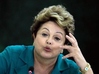 Brasiliens Pr�sidentin Rousseff