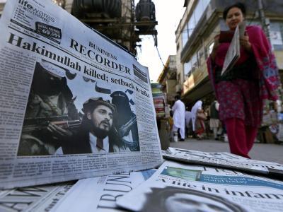 Schlagzeilen in Pakistan