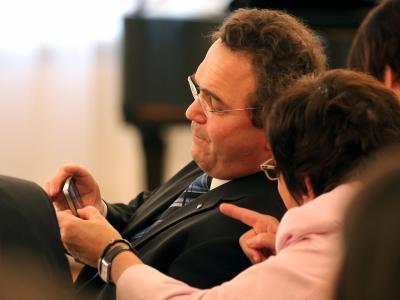 Bundesinnenminister Friedrich fordert ein IT-Sicherheitsgesetz. Foto: Wolfgang Kumm/Archiv