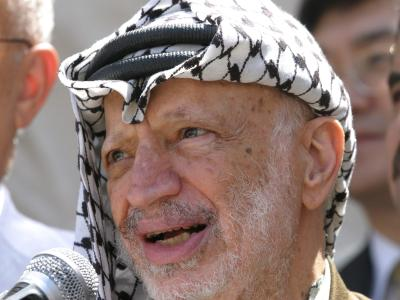 Palästinenserführer Jassir Arafat imSommer 2004. Foto: Atef Safadi