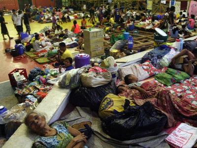 Tausende Philippiner haben in Notunterkünften Zuflucht gefunden. Foto: Kit Recebido