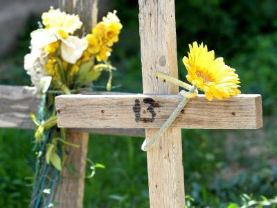 Friedhof auf Lampedusa