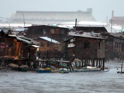 Der Taifun «Haiyan» war der zerstörerischste Wirbelsturm seit Jahrzehnten. Foto: Jay Rommel Labra