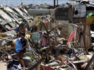 Eine Welt in Trümmern