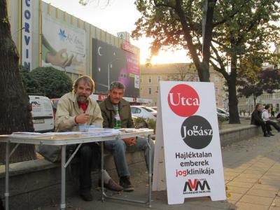 Obdachlos in Ungarn