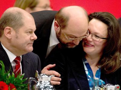 Scholz, Schulz und Nahles