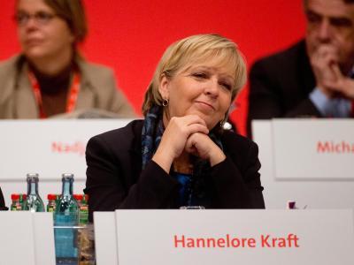 «Es muss einen Politikwechsel geben», sagte Ministerpräsidentin Hannelore Kraft. Foto: Kay Nietfeld