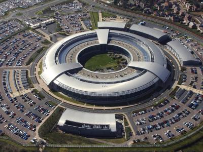 Die Zentrale des britischen Geheimdienstes British Government Communications Headquarters (GCHQ) in Cheltenham, Gloucestershire. Foto: GCHQ / British Ministry of Defence