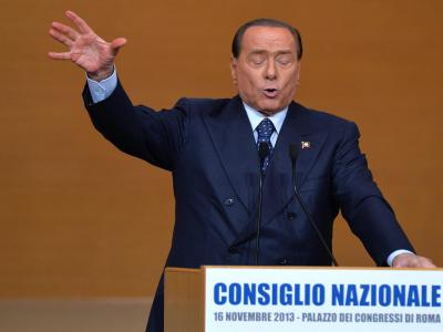 Silvio Berlusconis neue alte Forza Italia geht in die Opposition. Foto: Ettore Ferrari