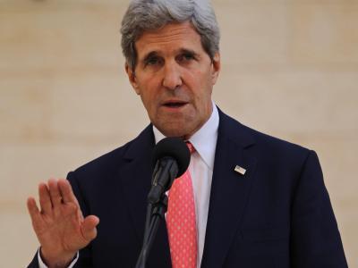 US-Außenminister Kerry plant nach «Spiegel»-Infomationen eine Versöhnungsreise nach Deutschland. Foto:Atef Safadi