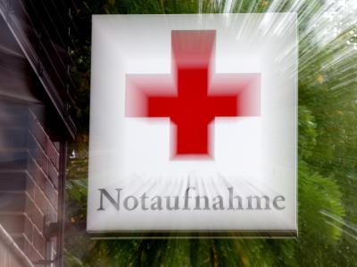 Reif für die Notaufnahme: Laut einer neuen Studie ist der Anteil der Kliniken mit roten Zahlen auf 51 Prozent gestiegen. Foto: Andre Kolm/Archiv