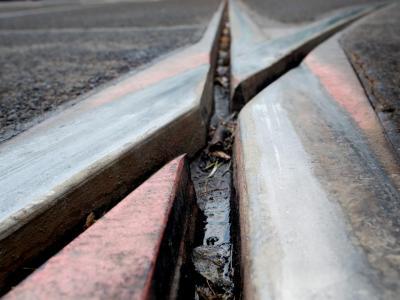 Ein Weichen-Defekt sorgt für Bahnprobleme im Großraum Frankfurt. Foto: Martin Gerten/Archiv