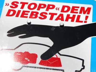 """""""Stopp"""" dem Diebstahl"""