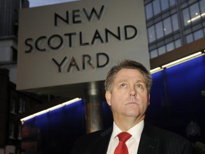 Kevin Hyland, hochrangiger Scotland-Yard-Ermittler, gibt erste Informationen zum Fall der mutmaßlichen Sklavenhaltung in London. Foto: Facundo Arrizabalaga