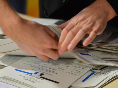 43 Prozent der Befragten sehen eine Neuwahl des Bundestages als Alternative. Foto: Marc Tirl
