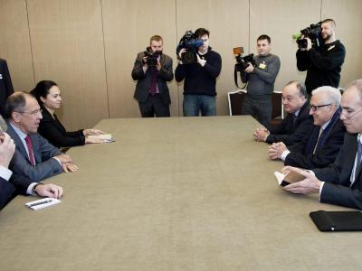 In den Atomgesprächen mit dem Iran versuchen Außenminister einen Brückenschlag. Foto: Jean-Marc Ferre / United Nations