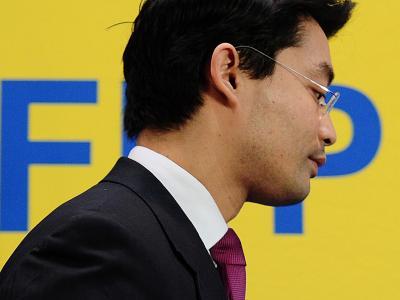 FDP-Chef Lindner wirft der Parteiführung um Rösler Fehler bei der Energiewende vor. Foto: Hannibal/Archiv