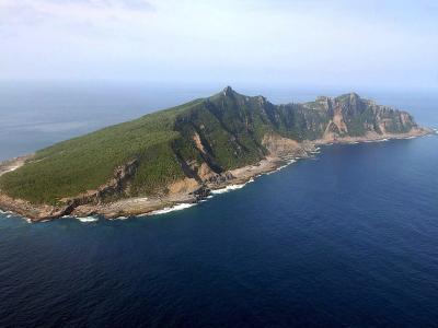 Uotsuri ist eine der umstrittenen Inseln. Foto: Hiroya Shimoji /Archiv