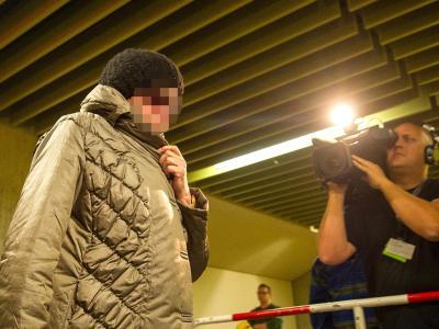 Die Mutter der Angeklagten Zschäpe, Annerose. Foto: Marc Müller
