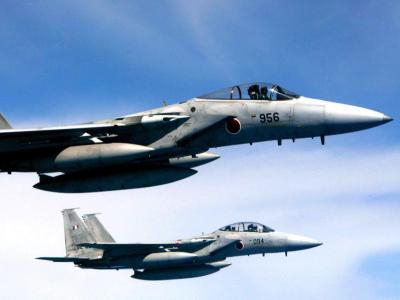 Patrouilleneinsatz: Nach den USA ist nun auch die Japanische Luftwaffe durch Chinas militärischen Luftraum geflogen. Foto: Hitoshi Maeshiro/Archiv