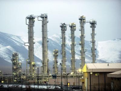 Die Fabrik ist wesentlicher Teil des umstrittenen Forschungsreaktors Arak. Foto: Hamid Forutan