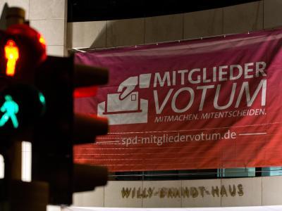 «Das Herz sagt Nein»: Wie entscheidet die SPD-Basis? Foto: Soeren Stache