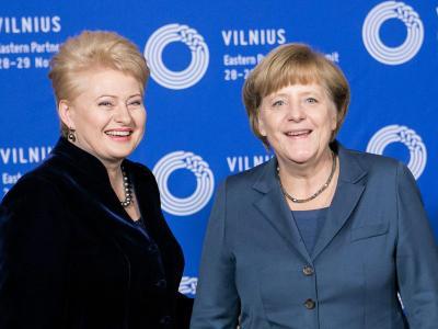Merkel in Vlnius
