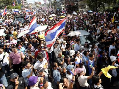 Proteste in Bangkok