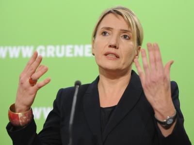 Simone Peter hält nicht viel von der Vereinbarung: «Der Vertrag beinhaltet 132 Prüfaufträge, viel zu viel bleibt im Ungefähren.» Foto: Britta Pedersen