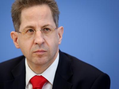 «Rückkehrer besonders im Visier»: Verfassungsschutzpräsident Hans-Georg Maaßen Foto: Kay Nietfeld/Archiv